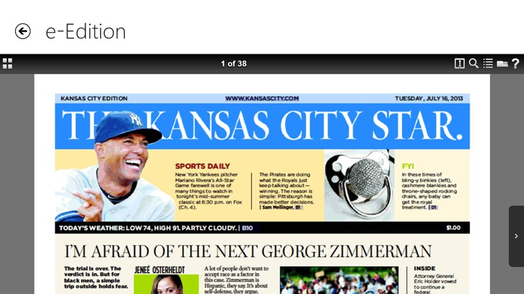 The Kansas City Star screen shot 8