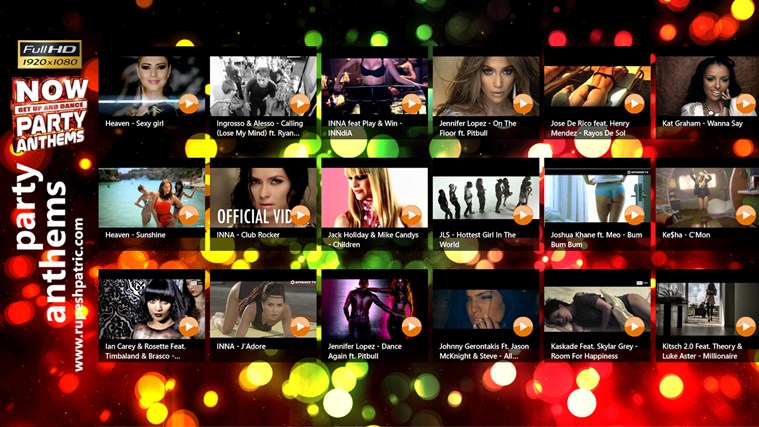 Party Anthems (Full HD) screen shot 0