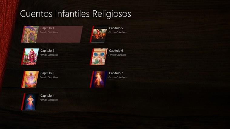 Cuentos Infantiles Religiosos screen shot 0