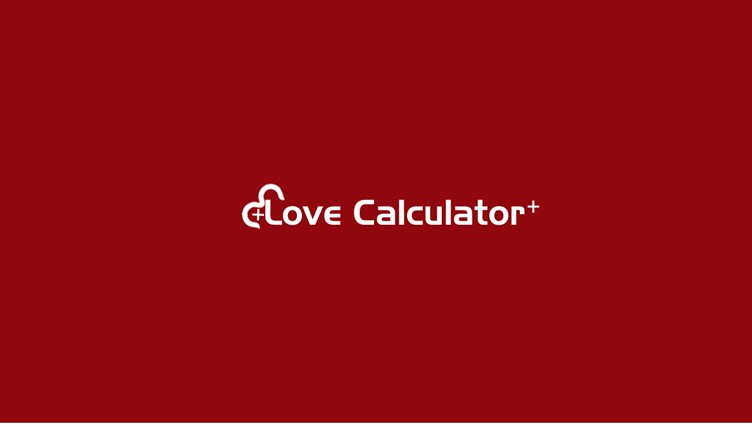 Love Calculator + screen shot 0
