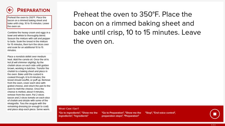 Epicurious screen shot 4