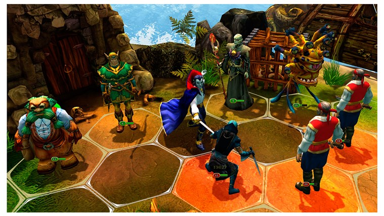 King's Bounty: Legions screen shot 4