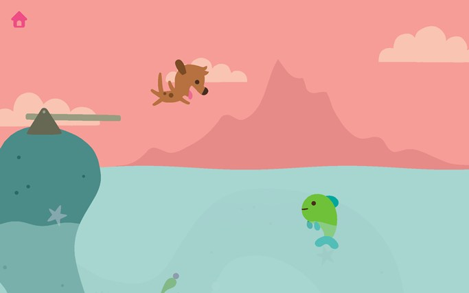 Sago Mini Ocean Swimmer screen shot 6
