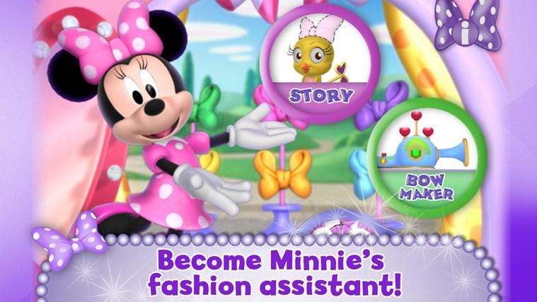 Minnie Bow Maker screen shot 0