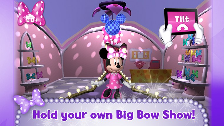 Minnie Bow Maker screen shot 2