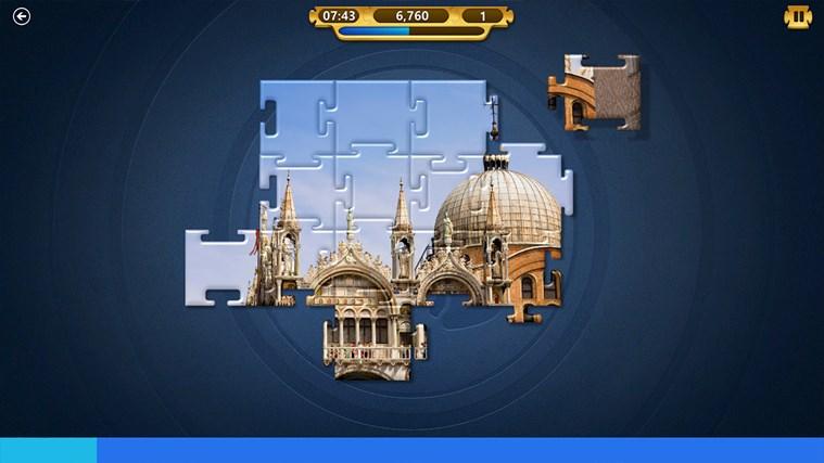 Microsoft Jigsaw screen shot 4