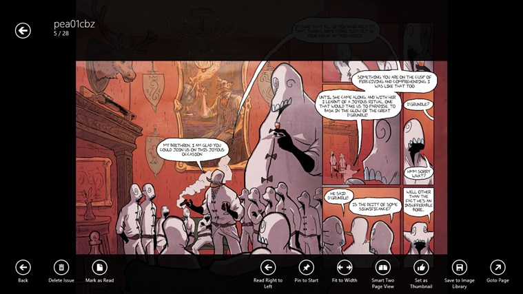 comics Jolt! screen shot 2