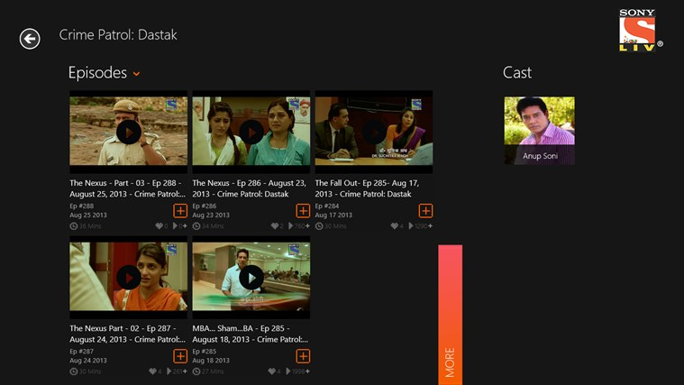 Sony LIV app for Windows in the Windows Store Taarak Mehta Ka Ooltah Chashmah Photos