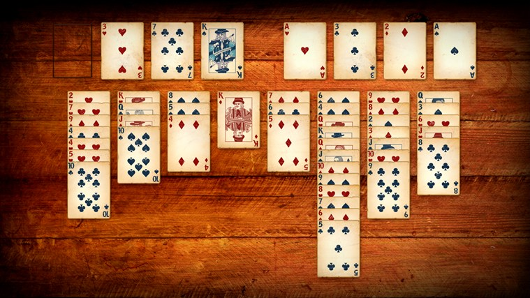 Play FreeCell and four other fun solitaire card games!