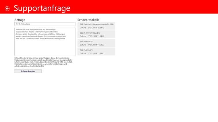 Sparkasse Screenshot 6