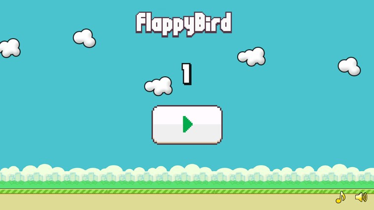 Flappy Bird HD screen shot 0