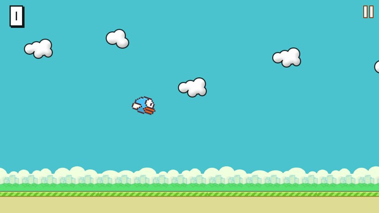 Flappy Bird HD screen shot 2
