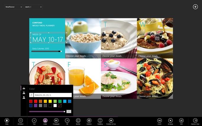 "Microsoft ""Project Siena"" screen shot 0"