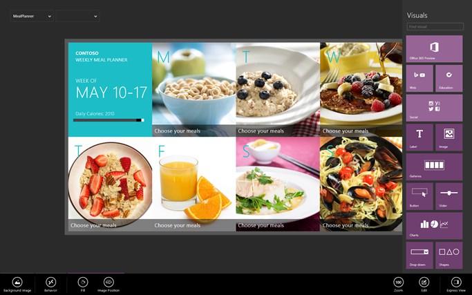 "Microsoft ""Project Siena"" screen shot 2"