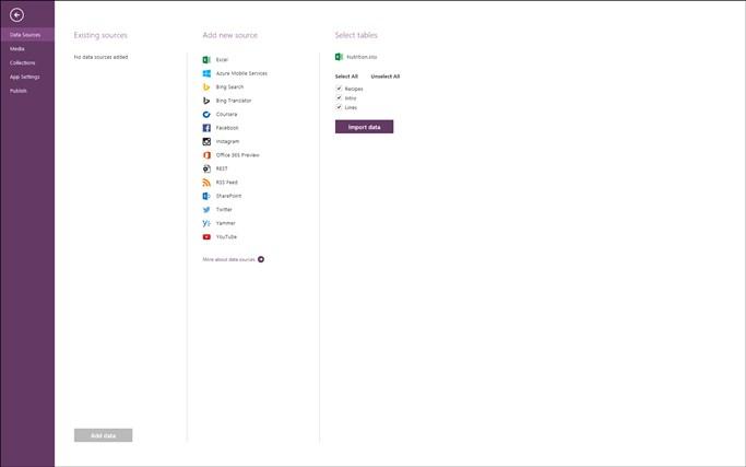 "Microsoft ""Project Siena"" screen shot 4"