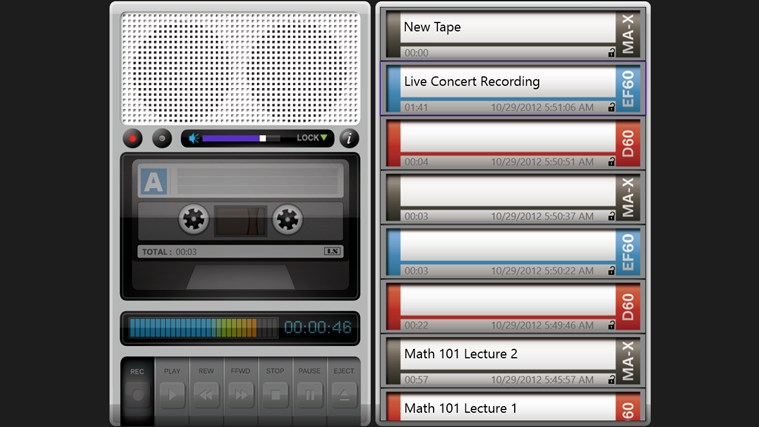 Tape Recorder Pro screen shot 0