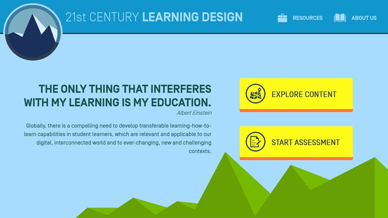 21st Century Learning Design screen shot 0