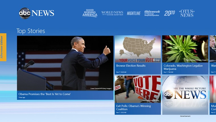 ABC News screen shot 0