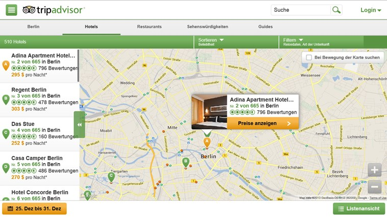 TripAdvisor Hotels Flights Restaurants Screenshot 2