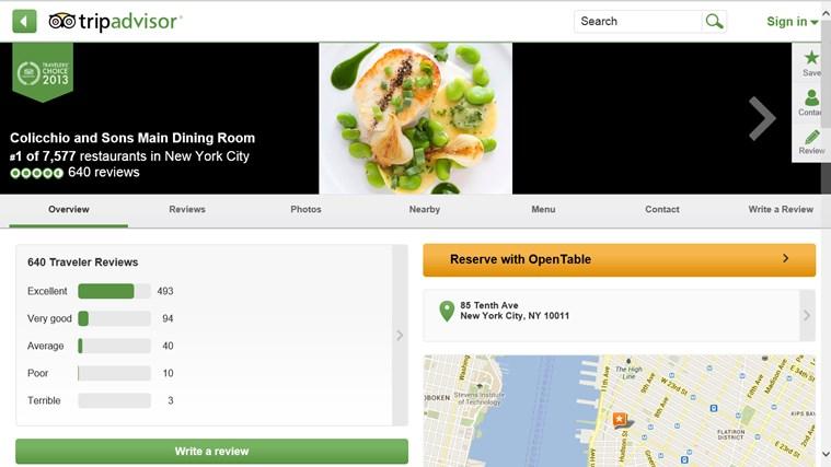 TripAdvisor Hotels Flights Restaurants screen shot 4