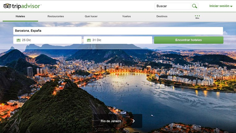 TripAdvisor Hotels Flights Restaurants captura de pantalla 0