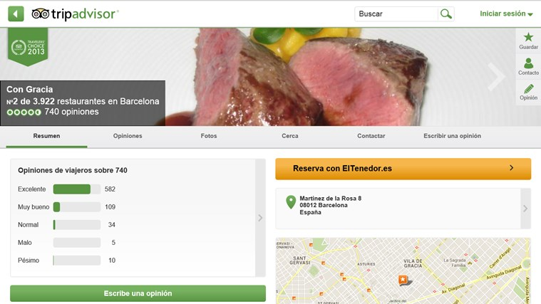 TripAdvisor Hotels Flights Restaurants captura de pantalla 4