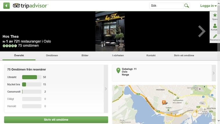 TripAdvisor Hotels Flights Restaurants-skärmbild 4