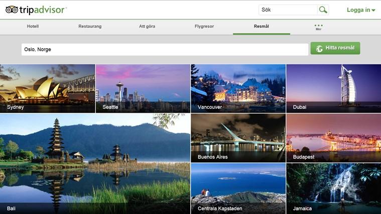 TripAdvisor Hotels Flights Restaurants-skärmbild 6
