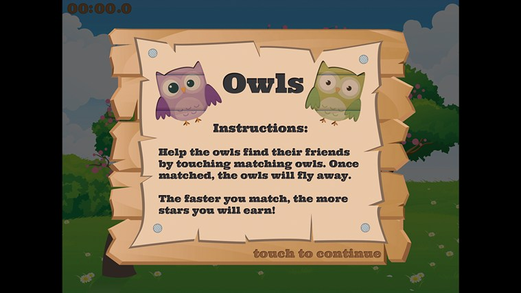 Owls screen shot 0