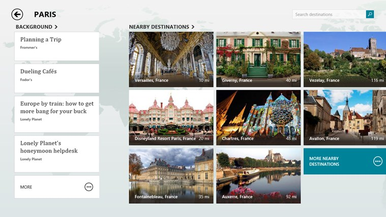 MSN Travel screen shot 4