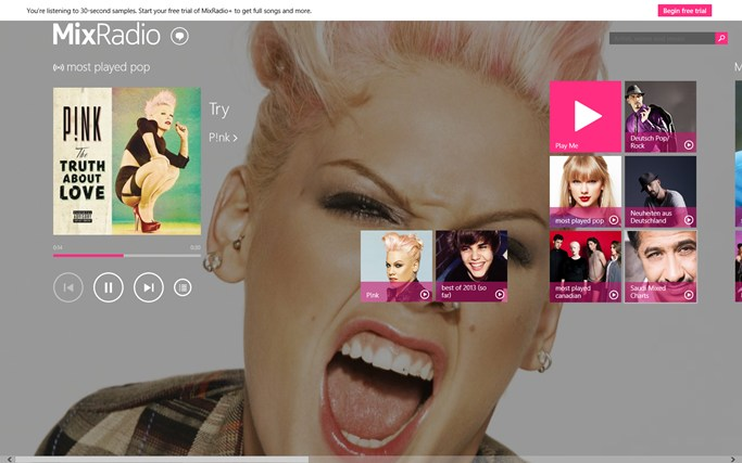 Nokia MixRadio screen shot 0