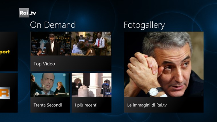 Rai.tv cattura di schermata 2