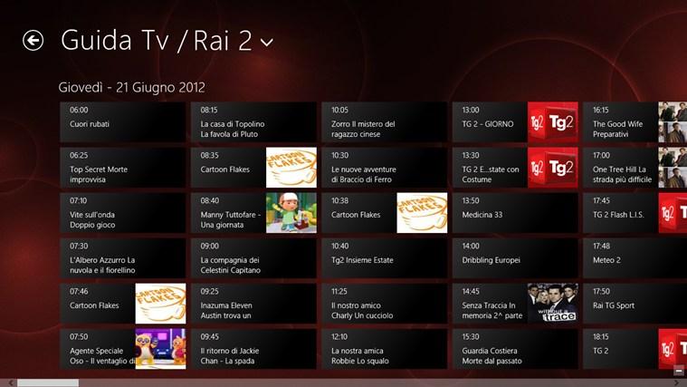 Rai.tv cattura di schermata 4