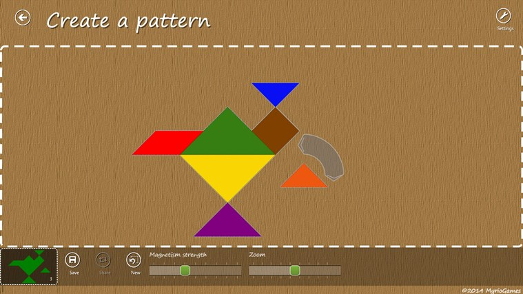 Tangram RT screen shot 4