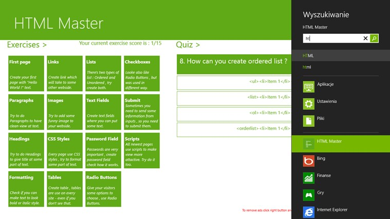 HTML Master screen shot 4