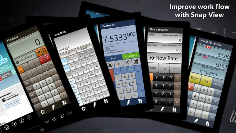 Calculator - Calc Pro HD screen shot 8