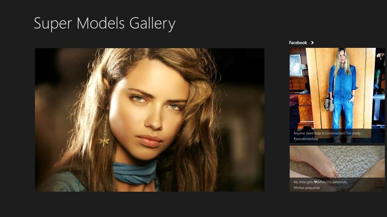Super Models Gallery screen shot 0