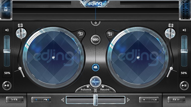 edjing - DJ mixer console studio - Play, Mix, Record & Share your sound! screen shot 6
