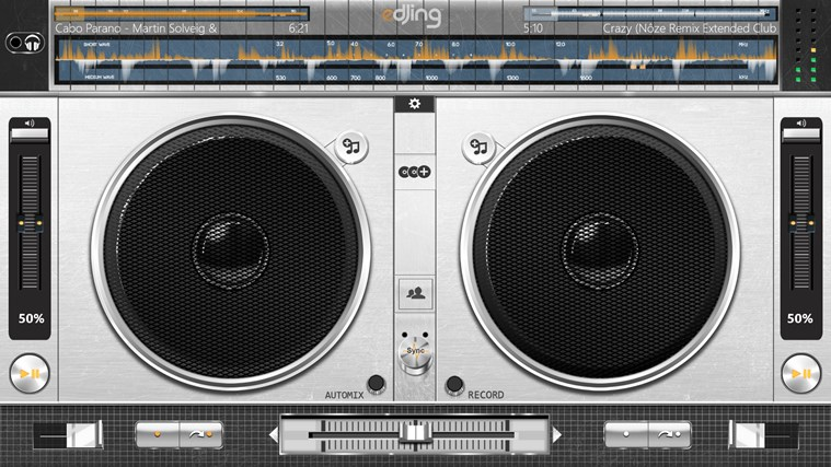 edjing - DJ mixer console studio - Play, Mix, Record & Share your sound! screen shot 8