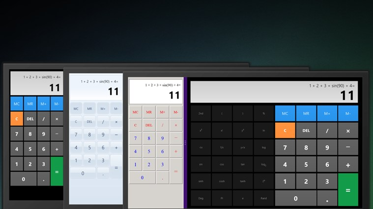 Calculator X8 screen shot 6