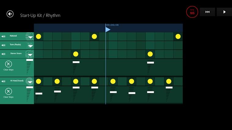 Musical Sketch Pad screen shot 2