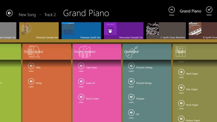 Musical Sketch Pad screen shot 4
