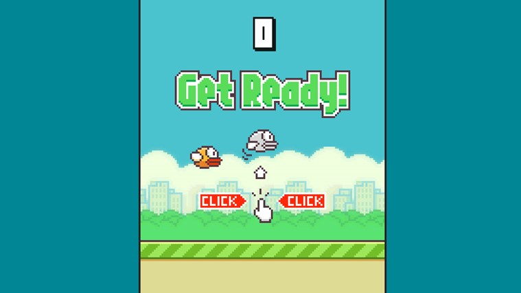 FlappyBirds Free screen shot 2
