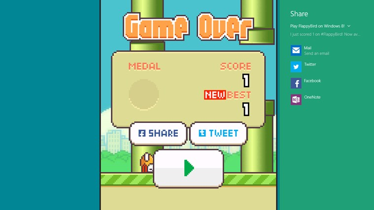 FlappyBirds Free screen shot 4