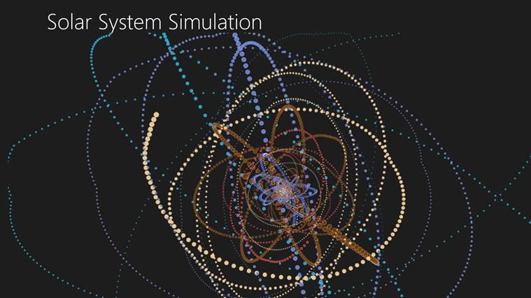 Solar System Simulation screen shot 6