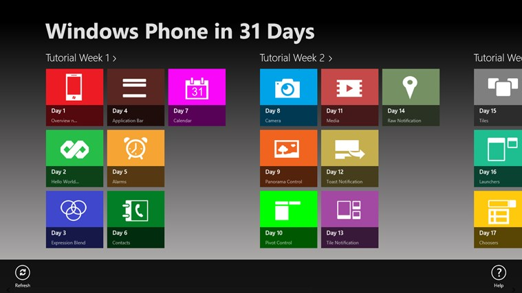 Windows Phone in 31 Days screen shot 0