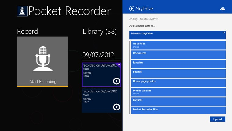 Pocket Recorder screen shot 6