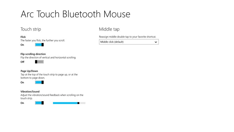 Arc Touch Bluetooth Mouse screen shot 0
