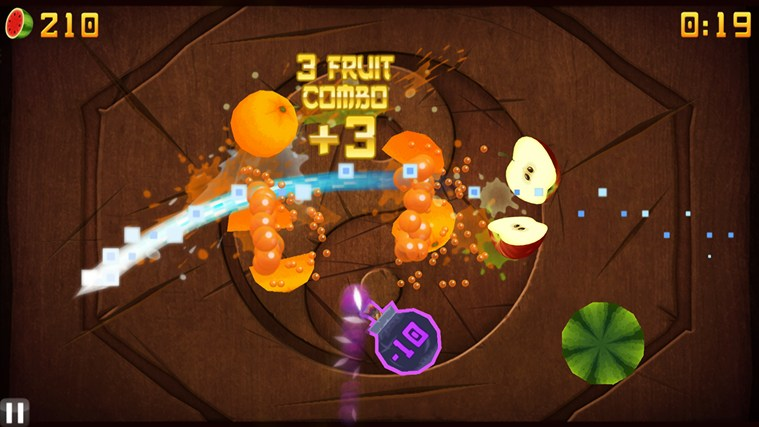 Fruit Ninja screen shot 2