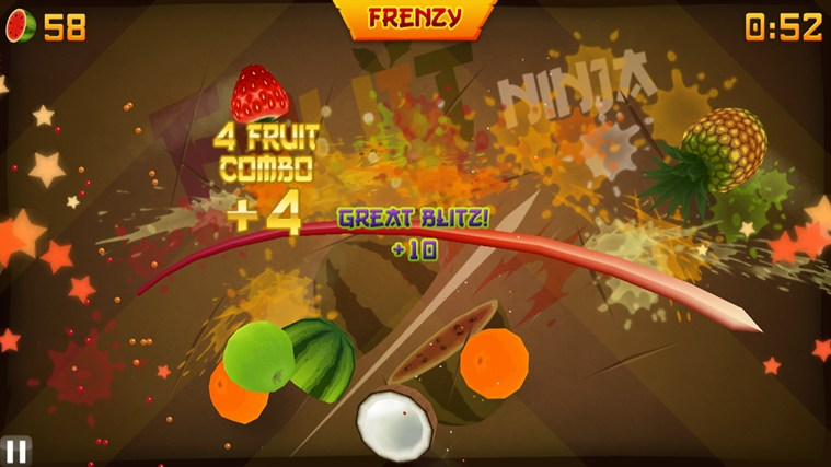 Fruit Ninja captura de pantalla 0